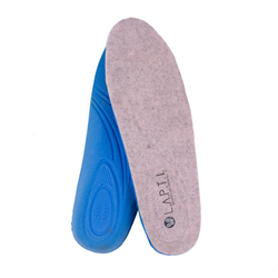 Warmed insoles female of felt Lapti rose