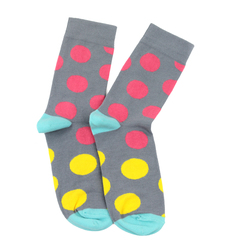 Socks LAPTI gray peas