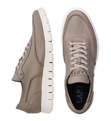 Women's sneakers made of natural napuck Lapti cappuccino