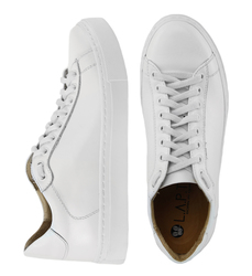 White leather sneakers (W)