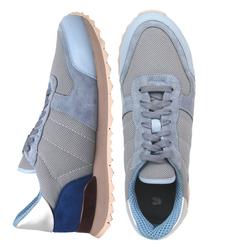 Комбинированные голубые кросcовки (W)