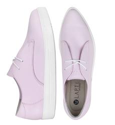 Кеды розовые без подкладки с зауженным носком(W)