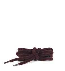Шнурки бархатные бордовые 70 см.