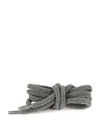 Шнурки бархатные серые 70 см.