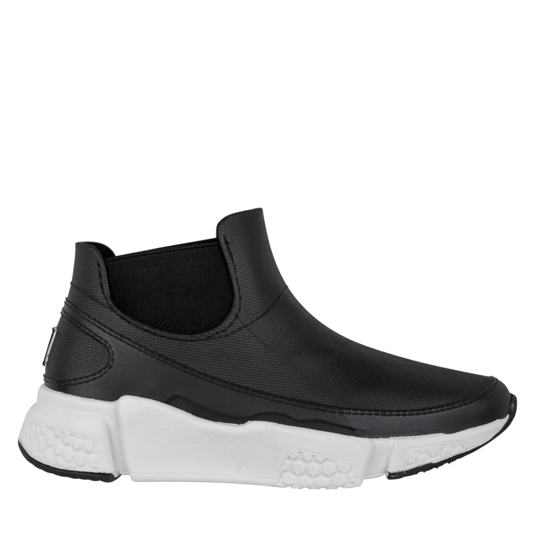 Женские черные водонепроницаемые кроссовки Plash. Lapti 340-841 EVA black