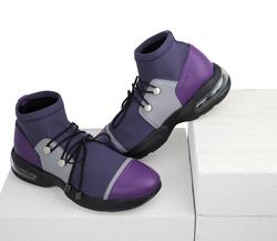 Кроссовки-носки фиолетовые (W)