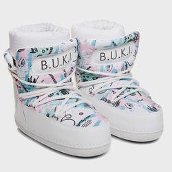 BUKI moon rovers white graffiti (W)