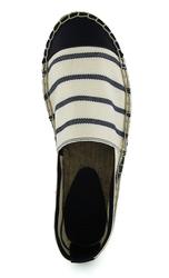 White striped cotton espadrilles(M)