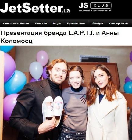 JetSetter об AnnaK x L.A.P.T.I.