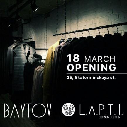 L.A.P.T.I. x BAYTOV show-room