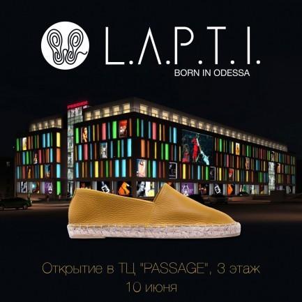 Открытие L.A.P.T.I.point в Днепре