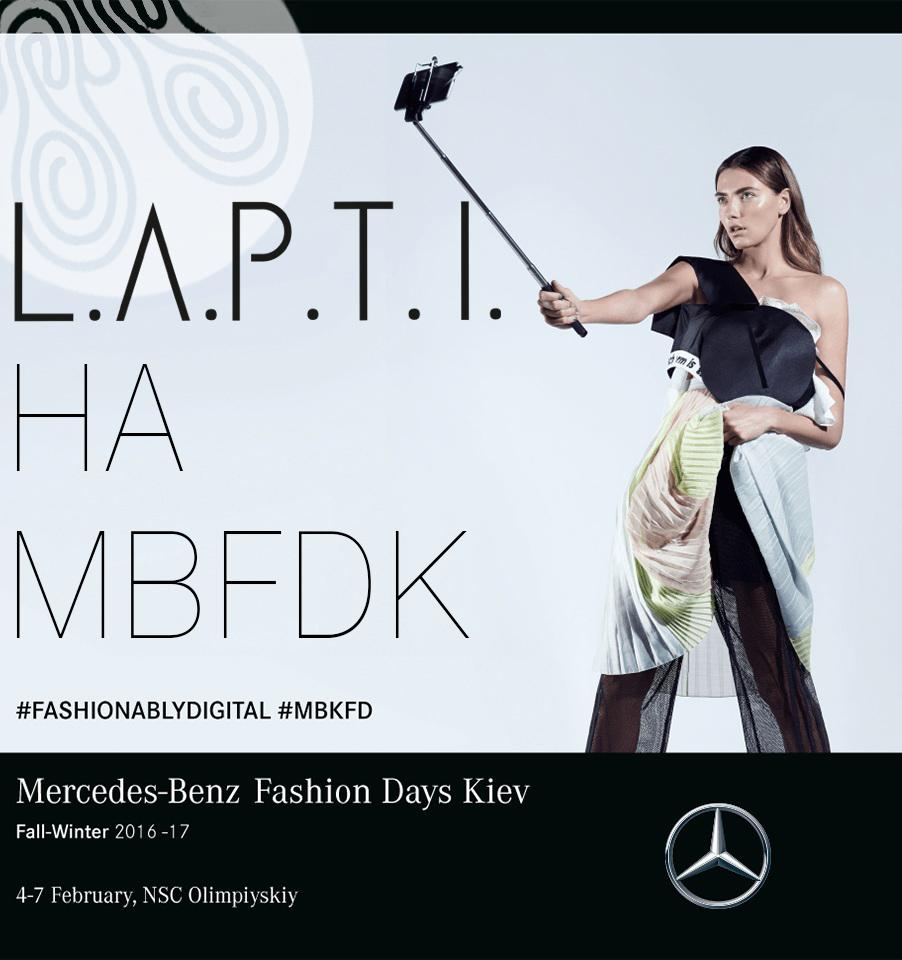 L.A.P.T.I. на Mercedes-Benz Kiev Fashion Days